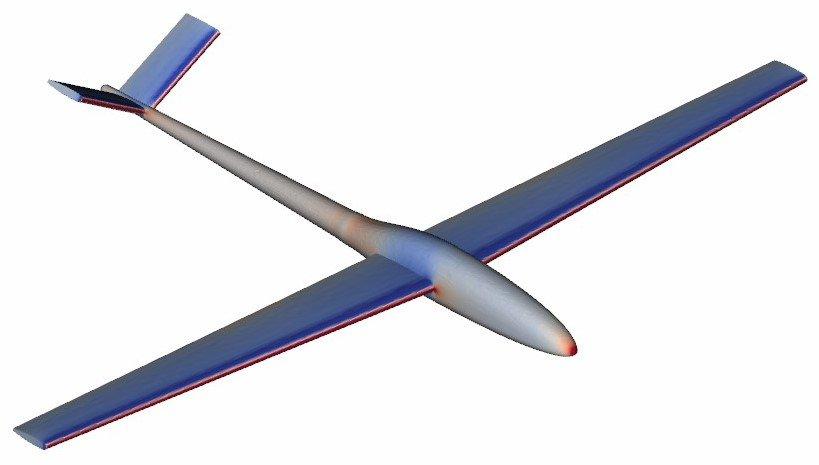 Glider CFD analyis - simworks tutorial