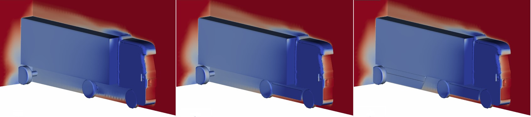 truck side skirts cfd simulation