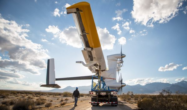 wind turbines mounted on tethered glider